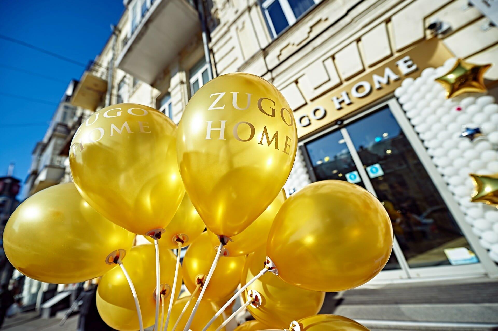 Zugo Home был открыт в Киеве