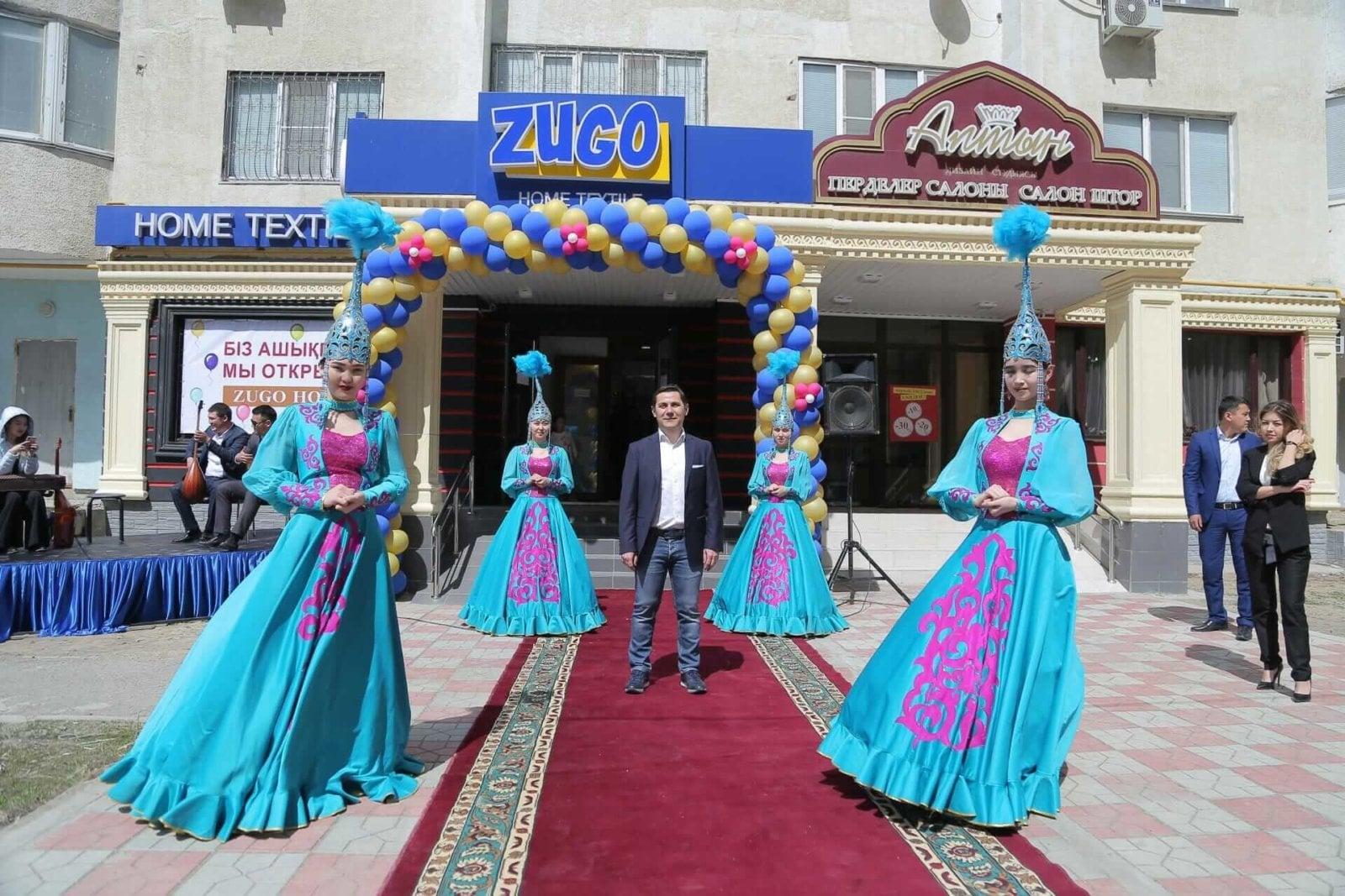 В Атырау открылся официальный магазин Zugo Home & Horeca Textile